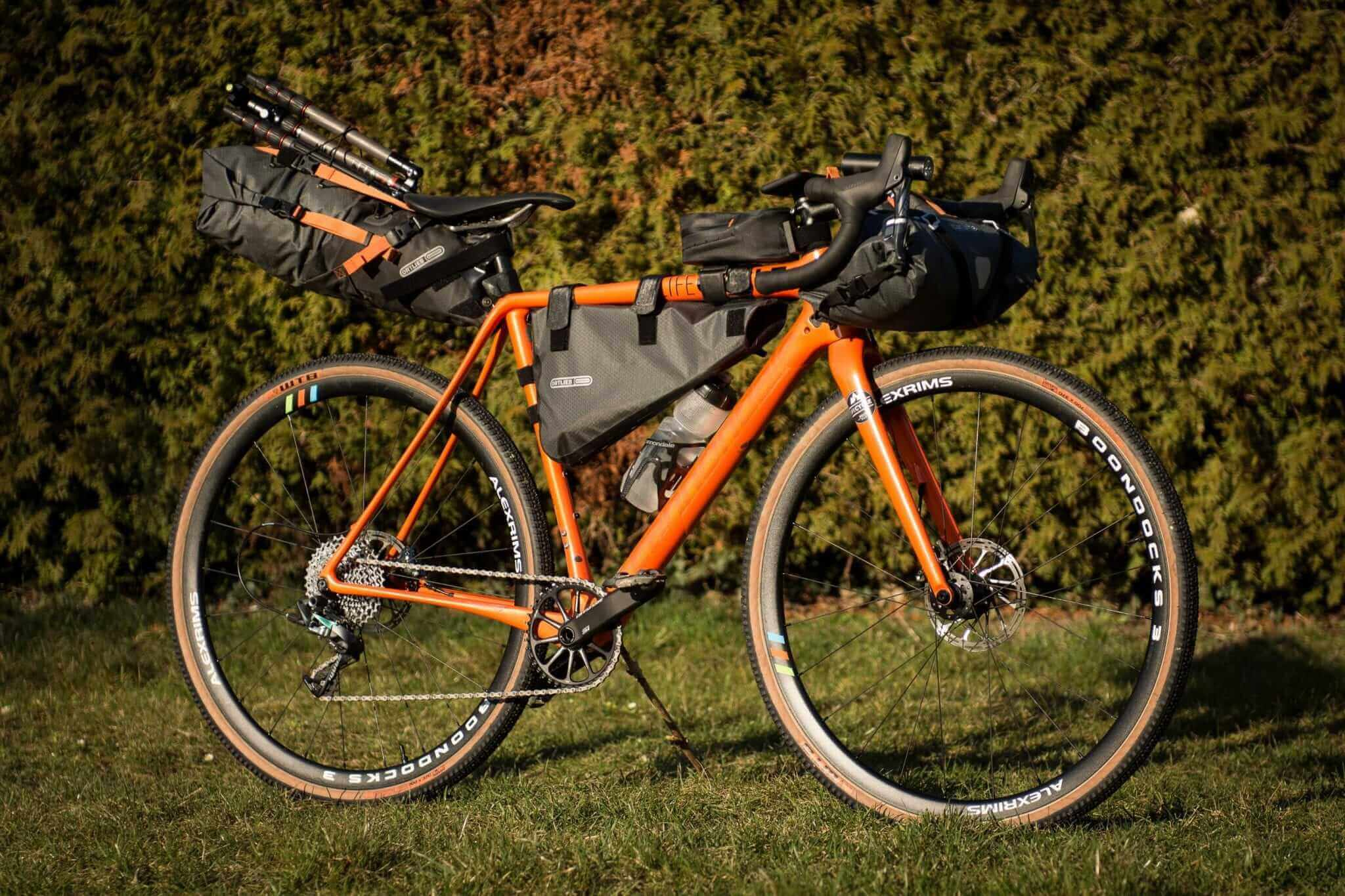 Ortlieb Bikepacking Test 2018
