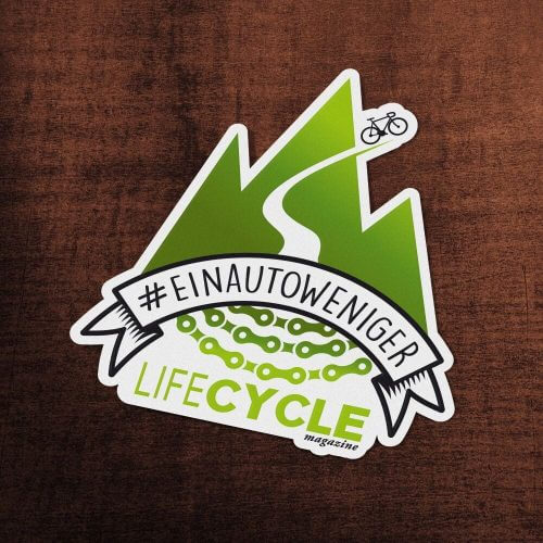 lifeCYCLE Sticker