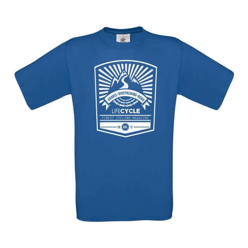 lifecycle tshirt shop blau