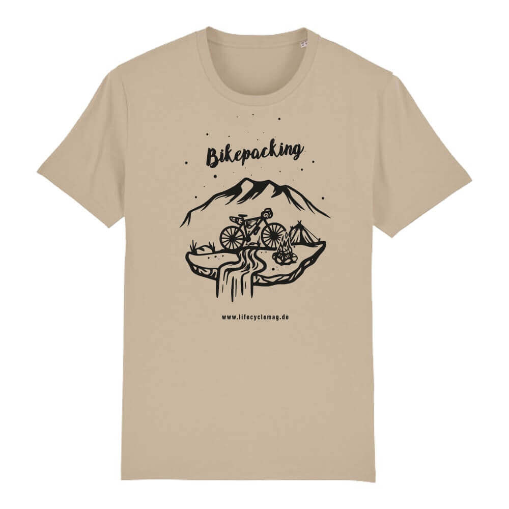 lifeCYCLE Bikepacking T-Shirt desert dust